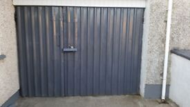 Strong Durable Metal Garage Workshop Door