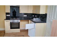 Studio flat to rent, Lower Woodfield Road, rent includes water rates and heating.