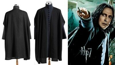 Harry Potter Deathly Hallows Severus Snape Schwarz Cosplay Kostüm Party
