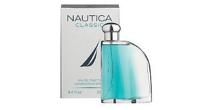 NAUTICA CLASSIC  3.4 OZ 100 ML EAU DE TOILETTE SPRAY NIB