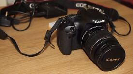Canon EOS 550D with free lanes