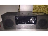 Bush CD Player/Radio/IPhone Pod speaker