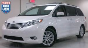 2013 Toyota Sienna LIMITED AWD - NAV - CUIR - 2 TOITS - DVD