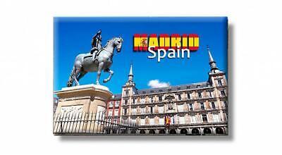Madrid Denkmal Foto Magnet Spanien Spain Souvenir Fridge,Neu (Magnet Madrid)