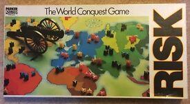 Vintage 1985 RISK board game. Excellent condition!