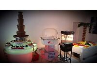 CANDY FLOSS HIRE FACE PAINTER BALLOON MODELLING CHOCOLATE FOUNTAIN HIRE SLUSH HIRE POPCORN HIRE