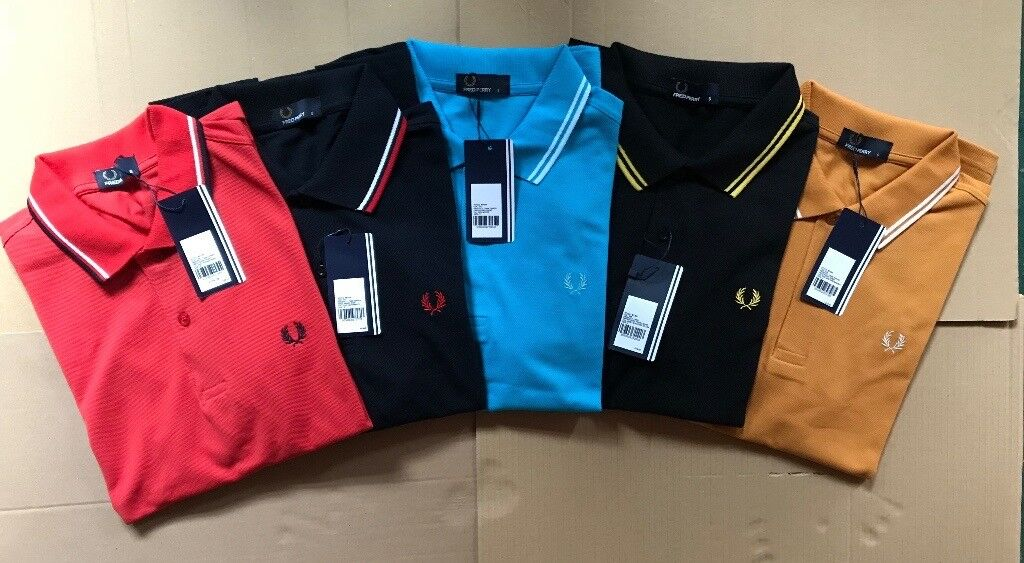 Fred Perry Polo Shirts -WHOLESALE ONLY-