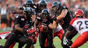 Ottawa RedBlacks - BEST SEATS - Upper, Lower - Last Minute - ALL HOME GAMES!! - ONLY 3% Service Fee on Orders!!!
