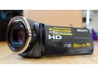 Sony HDR-CX505VE Full HD Camcorder with 32GB built in Hard Drive and 12 Megapixel stills.
