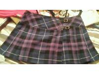 Ladies mini kilt