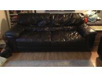 3 and 2 seater sofas. Furniture village, Carolina range