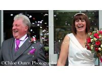 Wedding photographer now at heavily reduced rates - available now!