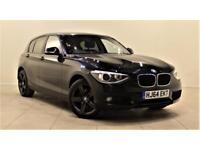 BMW 1 SERIES 2.0 120D SE 5d 181 BHP + £30 ROAD TAX + BLUE (black) 2014