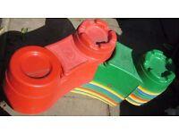 Castle sand pit kit. Used.