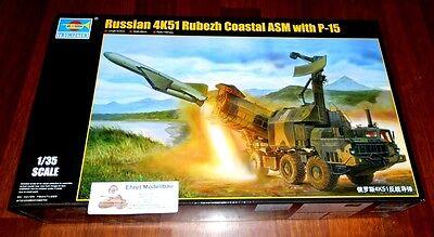 Russian 4K51 Rubezh Coastal ASM with P-15 in 1:35 Trumpeter 01035 Neu