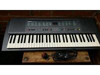 Yamaha, PSR-300, Electric keyboard with stand and charger