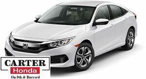2016 Honda Civic LX + BLUETOOTH + HEATED SEATS + MUST GO!!