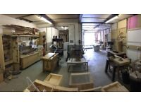 Bench Space in fully equipped workshop BS2