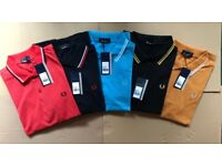 Fred Perry Polo Shirts - Wholesale Only -