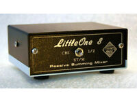Passive Discrete Summing Mixer LittleOne 8x2 DB25 input/ TRS output 1xstereo to 2 mono new!