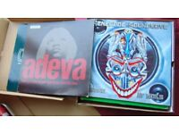 """21 x 12"""" vinyl singles, mostly Pop, Dance & Electronic, in good - very good condition."""