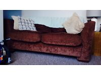 FOR SALE - Two Fabric Sofas