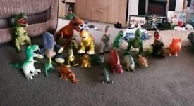Dinosaur toy bundle