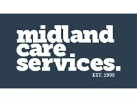 CARE ASSISTANTS WANTED! Drivers Only!! All areas of Birmingham, No experience necessary