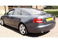 2006 CHEAP AUDI A6 SLINE 2.0 TDI REMAPPED AUTOMATIC 160BHP 1 OWNER A4 MERCEDES GOLF A3 S LINE