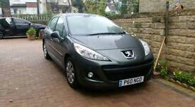 2009 PEUGEOT 207 S HDI 68 grey 5 door cheap to tax insure