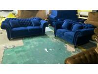 Chesterfield sofa sets 3+2 only. Delivery available 🔥