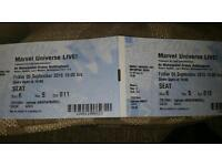 Marvel live tickets