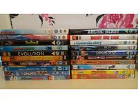 60+ mixed dvds. OFFERS? NEED GONE!!