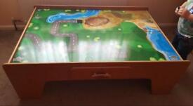 Universe of imagination train/car play table
