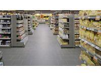 18 m2 20x20cm Black Aldi Spec Porcelain Anthracite Floor tiles