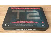 Collectors Terminator Box Collectors Terminator Box Set -Immaculate