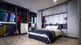 Bespoke Fitted Bedroom - Fitted Wardrobe - Sliding door - kitchen furniture - 30% OFF