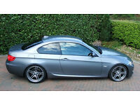 BMW 335d MSport Coupe Auto inc Private Number Plate, 2011, Low Miles