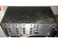 Selmer 100w 4 channel PA head EL34 vintage valve amplifier tube amp british