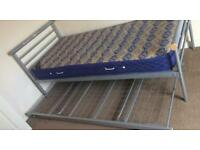 Single bed with pull out spare bed