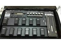 POD Line 6 XT pedal board