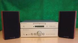 Cambridge Audio Azur 640A Integrated Amplifier & 640C CD Player with Whafedale Diamond 9.1 Speakers