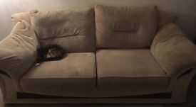 FREE - Large 3 seater sofa - well used