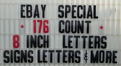 8 Changeable Letters 4 Outdoor Marquee Portable Signs