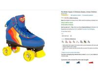 Rio Roller Skates size 5 not used very much