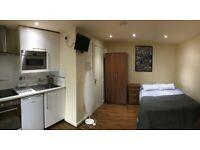 Open Plan Studio Flat | All Bills included + Free WiFi | 5min to Willesden Green | ref. 011-96CR
