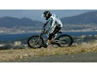 WANTED DOWNHILL BIKE FULL SUSPENSION MOUNTAIN BIKE CASH WATING CAN COLLECT TODAY
