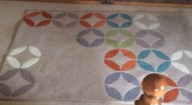NEXT PATTERNED RUG 170 x 120cm