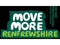 Walk Leader Volunteer with Macmillan @ Move More Renfrewshire *THURSDAY AT 10AM*