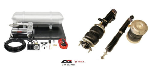 D2 Air Struts + Vera Basic Air Suspension For 2014+ Civic Sedan Coupe Si Only